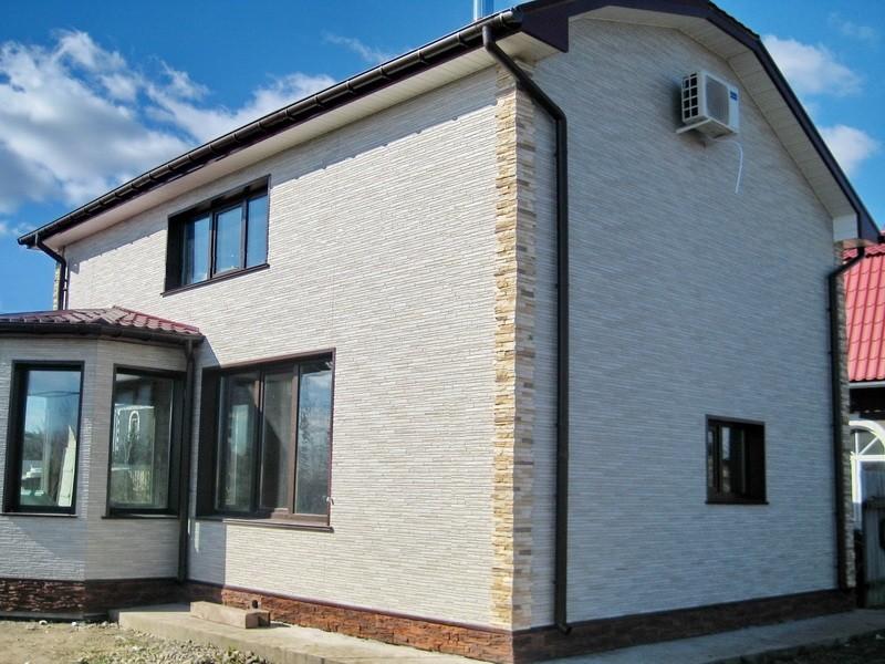 Обшить дом фасадными панелями 36